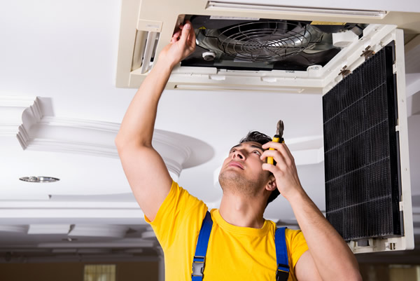 how to service air conditioning