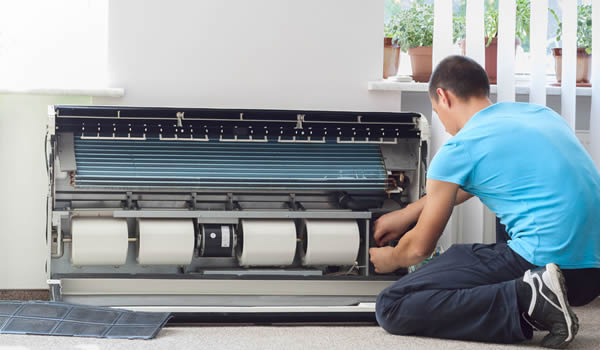 how to maintain an air conditioner